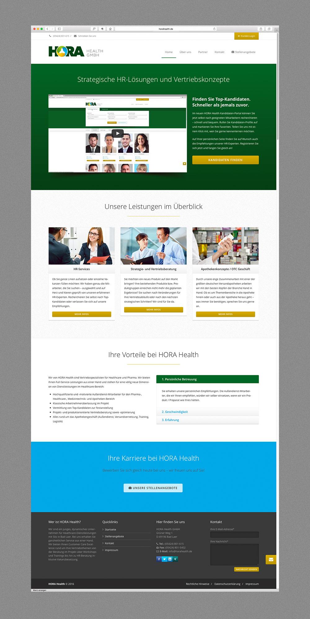 Online recruitment portal